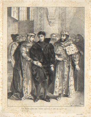 Hamlet Eug 232 Ne Delacroix S Lithographs Published By