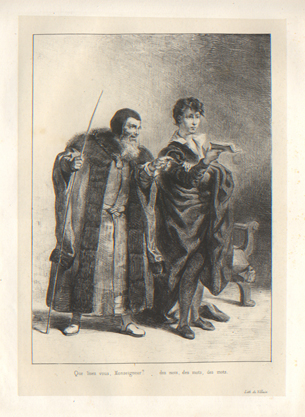 Hamlet and Polonius Plate 4