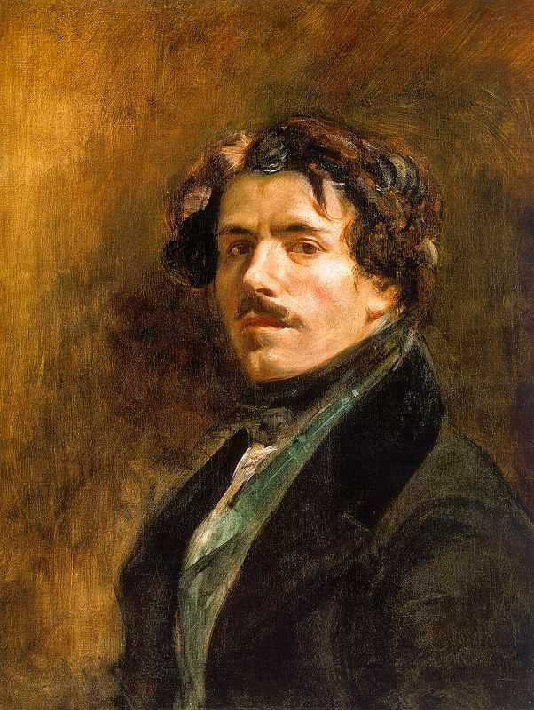 Delacroix Self-Portrait in 1837