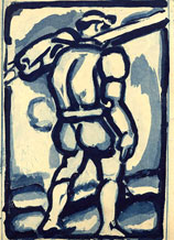 Georges Rouault, Chemineau, aquatinte